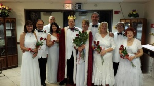 King and Queen Court
