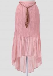 Pink skirt Ruche