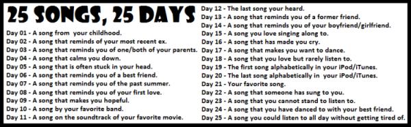 Music Challenge Day 4!